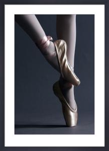 Ballet shoes by Mirrorpix