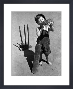 Cricket Boy, 1948 by Mirrorpix
