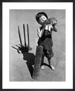 Cricket Boy, 1948 by Mirrorpix