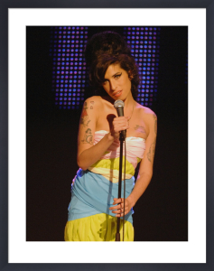 Amy Winehouse, Mercury Music awards by Mirrorpix