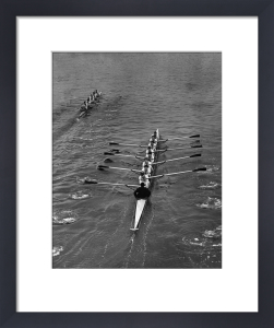 Cambridge win Varsity Boat Race by Mirrorpix