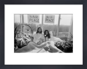John Lennon and his wife Yoko Ono by Mirrorpix