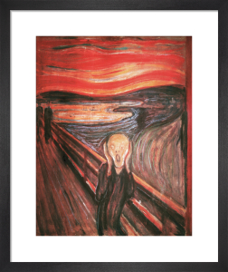 The Scream (medium) by Edvard Munch