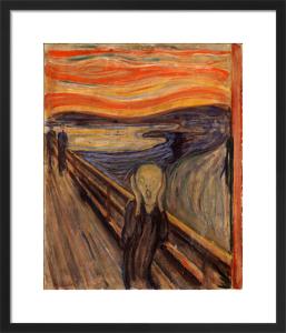 The Scream (medium) by Edvard Munch