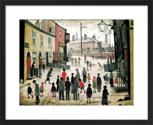 A Procession by L S Lowry