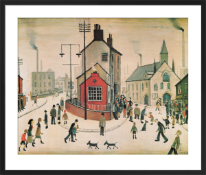 A Street in Clitheroe by L S Lowry