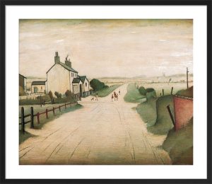 A Country Road by L S Lowry