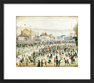 The Fair at Daisy Nook by L S Lowry