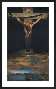 Christ of St. John of the Cross by Salvador Dali