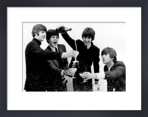 Beatles - Champagne by Celebrity Image