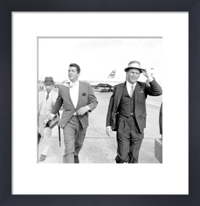 Frank Sinatra & Dean Martin by Celebrity Image