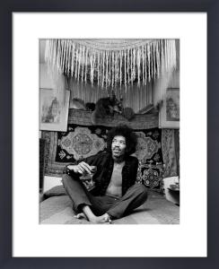 Jimi Hendrix by Celebrity Image