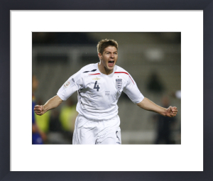 Steven Gerrard by Celebrity Image