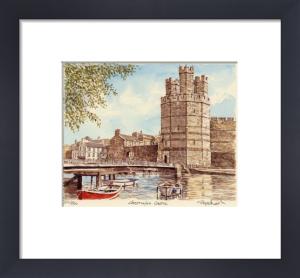 Caernafon Castle by Glyn Martin