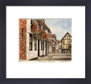 Shrewsbury - Fish Street by Glyn Martin