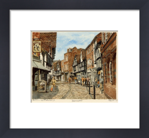 Worcester (street) by Philip Martin