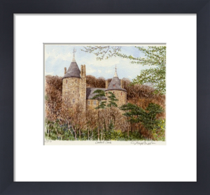 Cardiff - Castell Coch by Glyn Martin