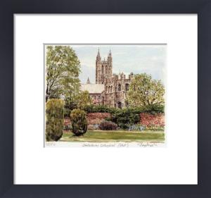Canterbury - Cath. E. end by Glyn Martin