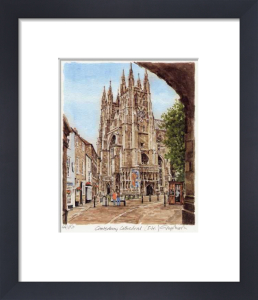 Canterbury - Cathedral S.W. by Glyn Martin