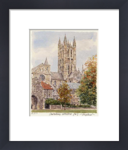 Canterbury - Cathedral N. by Glyn Martin