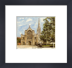 Norwich Cathedral by Philip Martin