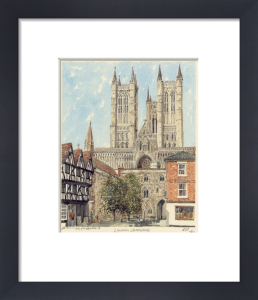Lincoln Cathedral by Philip Martin