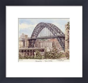 Newcastle - Tyne Bridge by Glyn Martin