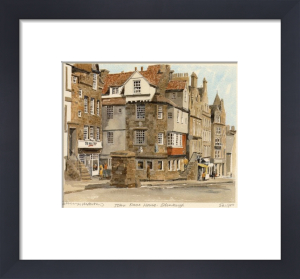 Edinburgh - John Knox's House by Philip Martin