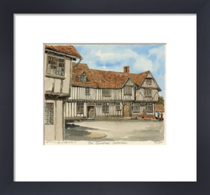 Lavenham - the Guildhall by Philip Martin