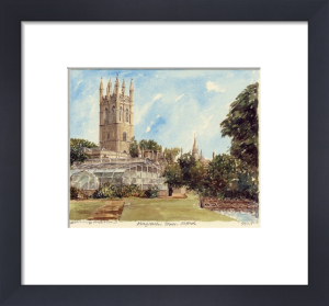 Oxford - Magdalen Tower by Philip Martin