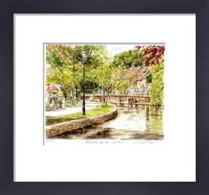 Bourton-on-the-Water by Glyn Martin