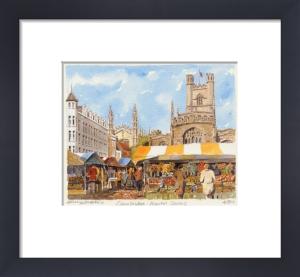 Cambridge - Market Square by Philip Martin