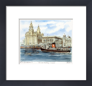 Liverpool - Liver Building by Philip Martin
