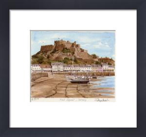 Jersey - Mount Orgueil by Glyn Martin