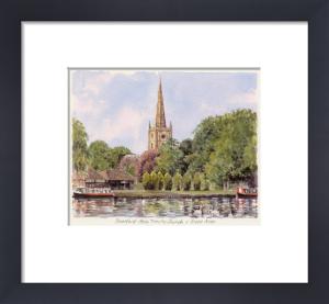 Stratford - River Avon by Glyn Martin