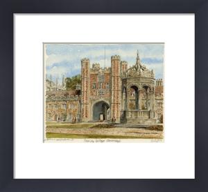 Cambridge - Trinity College by Philip Martin