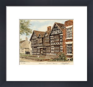 Nantwich - Churches Mansion by Glyn Martin