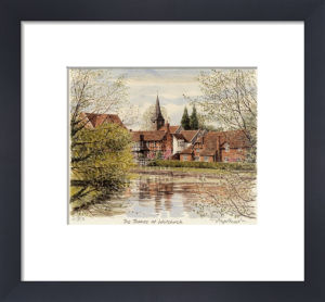 Whitchurch - Thames by Glyn Martin