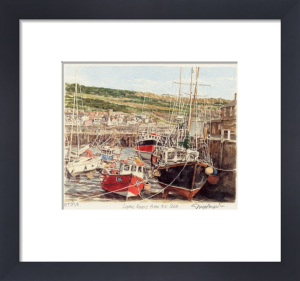 Lyme Regis - The Cobb by Glyn Martin