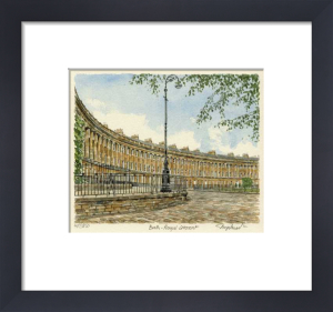 Bath - Royal Crescent by Glyn Martin