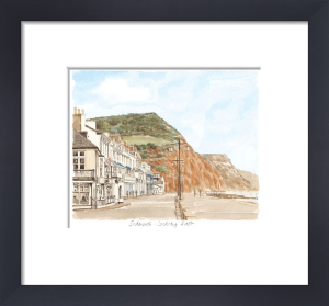 Sidmouth - looking east by Glyn Martin