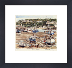 St. Ives - Harbour, Lighthouse by Glyn Martin