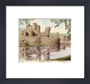 Caerphilly Castle by Glyn Martin