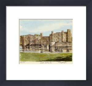 Leeds Castle (2) by Glyn Martin