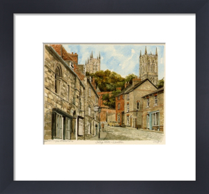 Lincoln - Steep Hill by Philip Martin