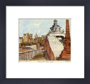 Newcastle - Swing Bridge by Philip Martin