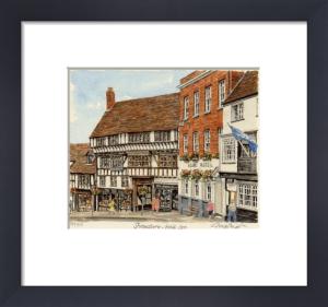Shrewsbury - Wyle Cop by Glyn Martin