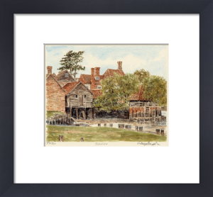 Beaulieu - Mill by Glyn Martin