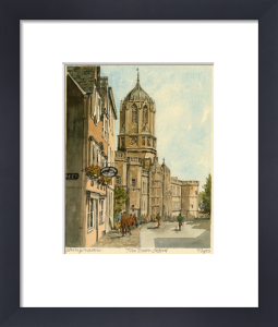 Oxford - Tom Tower by Philip Martin