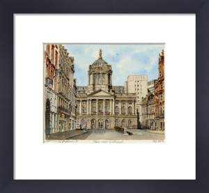 Liverpool - Town Hall by Philip Martin